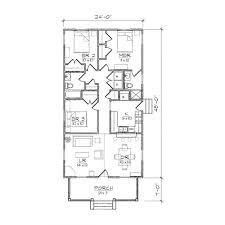 floor plans for narrow blocks 3 bedroom with study floor plan apartment house plans australia