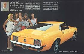 car sales ford mustang 21 retro car sales brochures that you need to see