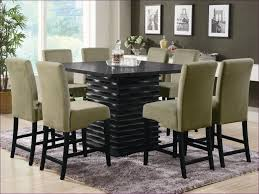 dining room magnificent glass dining room table and chairs black