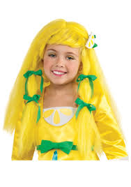 Strawberry Shortcake Halloween Costume Lemon Meringue Wig