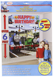 Thomas And Friends Decorations For Bedroom by Amazon Com Thomas The Tank Scene Setter Home U0026 Kitchen