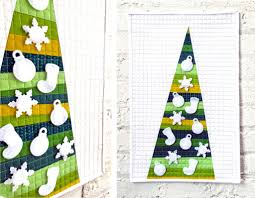 tutorial modern advent calendar quilt the sewing party