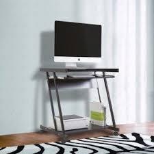 Office Furniture Computer Desk Computer Desk With Wheels Visualizeus