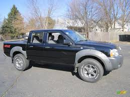 nissan frontier xe 2006 super black 2003 nissan frontier xe v6 crew cab 4x4 exterior photo