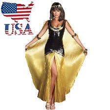 Cleopatra Halloween Costumes Girls Womens Halloween Costumes Cleopatra Ebay