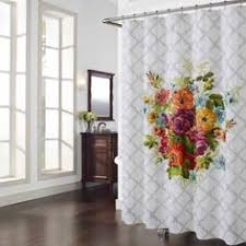 Shower Curtains Bed Bath And Beyond Showers U0026 Flowers Floral Shower Curtains Under 50 Floral