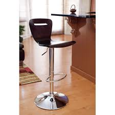 furniture cool red adjustable height bar stools design made from