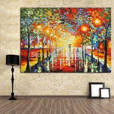 pure home decor new pure manual painting knife home decoration painting oil