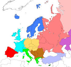 Western Europe Map by File Regions Of Europe Based On Cia World Factbook Png Wikimedia