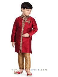 kurta colors colorful maroon and beige colored dhupian designer kurta pajama