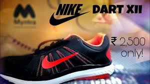 unboxing u0026 review nike dart 12 running shoes myntra india