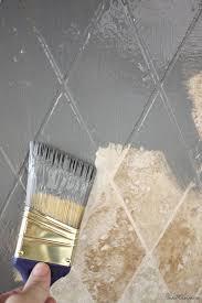 painted kitchen backsplash ideas best 25 painting tile backsplash ideas on painting with