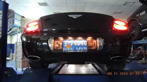 bentley dubai best exhausts system for bentley fox skyline dubai