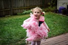 Pink Flamingo Halloween Costume Child Feathered Friends Easy Diy Flamingo Parrot Halloween