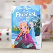 personalized disney frozen storybook simplypersonalized