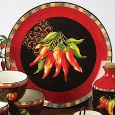 Chili Pepper Kitchen Decorating Themes - chili pepper clock for the home pinterest pepper clocks and