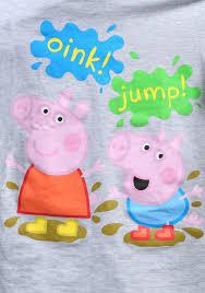 peppa pig u0026 george pig mud puddles toddler tee for boys
