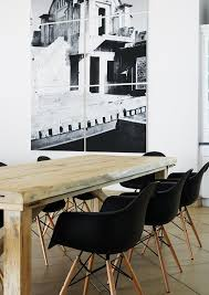 Black Dining Table White Chairs Best 20 Eames Dining Chair Ideas On Pinterest Eames Dining