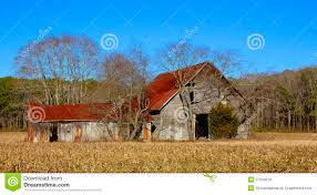 old barn with red roof stock images image 37918914