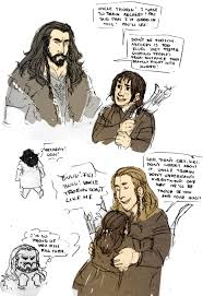 The Hobbit Kink Meme - bound for erebor