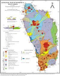 Hummingbird Map Geology A Virtual Dominica