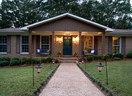 adding a front porch to a ranch house for the home pinterest