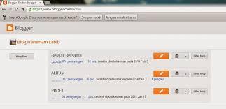 cara membuat blog tulisan cara membuat blog gratis dengan blogspot belajar bersama