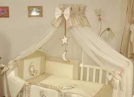 outstanding image of nautical star baby nursery room decoration outstanding image of nautical star baby nursery room decoration using transparent white baby decorative bed canopy including white star ribbon baby bedding