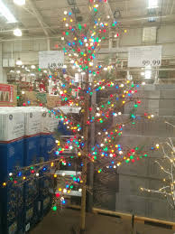 costco tree ge prelit led splendi ft