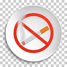 no smoking sign transparent background no smoking sign on white round plate stock vector newb1 100758406