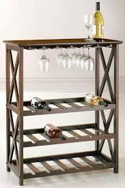 wine rack in walnut