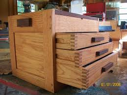 oak tool box with finger joints by coleby lumberjocks com