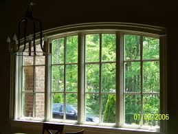 curved windows elliptical arch window detail true craftsman
