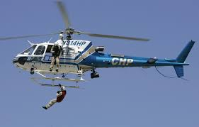 video chp helicopter rescues wounded horseback rider from mt