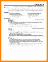 10 server skills resume letter signature