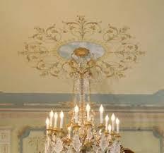 Chandelier Stencils Marie Antoinette Ceiling Medallion Stencil Classic French Decor