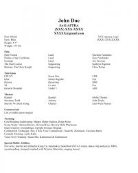 how to make a model resume samples of resumes