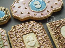 cameo cookies where to buy gold royal icing tips tricks a tutorial