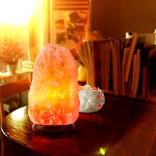 himalayan salt l ions himalayan salt lamp natural pure crystal rock dimmer switch night
