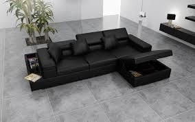 canape d angle noir canapé d angle cuir genova canapé d angle noir en cuir 4 personnes