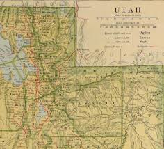 Provo Utah Map by Utah Map 1906 Original Art Antique Maps U0026 Prints
