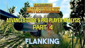 pubg tips xbox pubg tips tactics pro player analysis pt 4 flanking ft