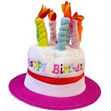 birthday hats novelty birthday cake hat pink co uk toys