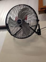 lasko fan wall mount bracket lasko 20 in high velocity floor or wall mount fan in black 2264qm