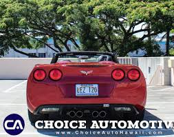2008 used chevrolet corvette 2dr convertible at choice automotive