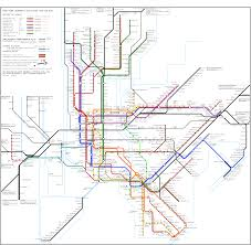 Manhatten Subway Map by War Of Yesterday Making A Subway Map I