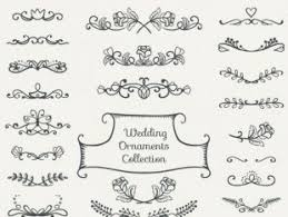 ornamental vintage wedding card free vectors ui
