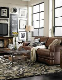 Brown Leather Armchair Design Ideas Decorating With A Brown Leather Sofa Impressive Design Ideas
