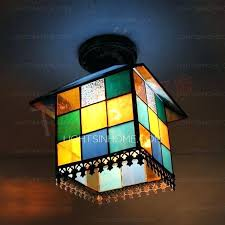 Stained Glass Ceiling Light Ceiling Ls For Low Ceilings Restoreyourhealth Club