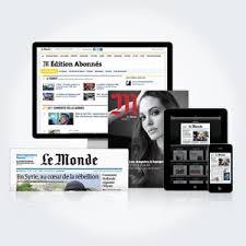 si鑒e du journal le monde abonnement le monde fr